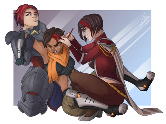 Red Team by angryraccoondraw