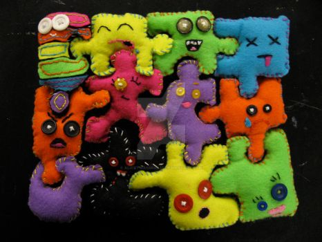 Plushie Puzzle by alicetwasbrillig
