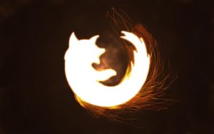 Firefox wallpaper by WhiteFandango