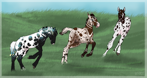 See Spot(s) Run by BrindleTail