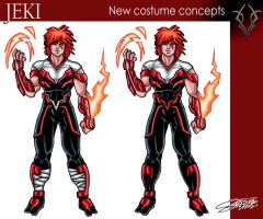 JEKI new costume design by VAXION