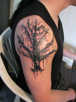 Finished Gorgoroth Tree by Milui