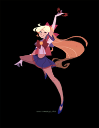 Just like Sailor V by nna