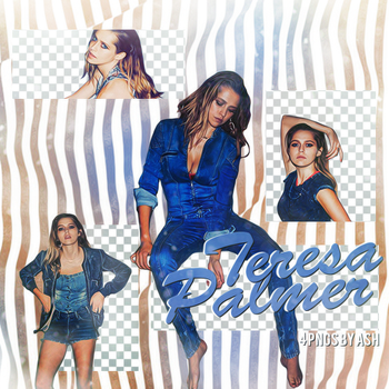 Teresa Palmer PNG pack 2 by Ash. by 1Dhazboo