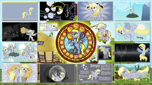 Derpy Hooves Stained Wallpapers by GT4tube