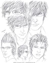 Ignis Sketchpage 2 by Saimain