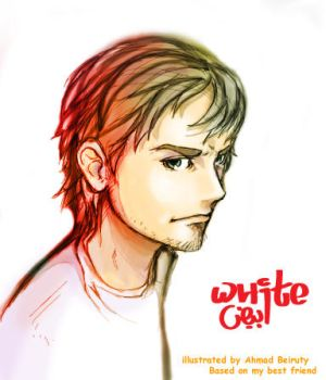 my friend white by Akkurio