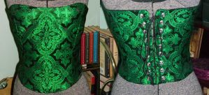 My New Corset by CountessLenore