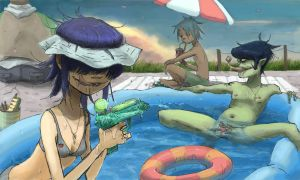 muro Noodle4 / Plastic Pool (color) by NoRiPiE