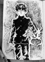 Mob fanart by Sal-san