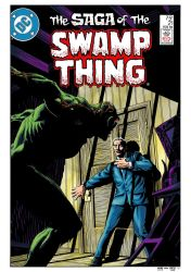 Swamp Thing #21 Cover Recreation by Kaufee