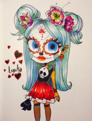 Lupita traditional new oc by temporaryWizard