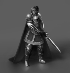 Female Paladin by Haute-claire