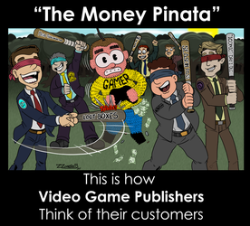 Money Pinata by ZZoMBiEXIII