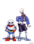 Skeleton Clothes Swap by DragonClaudz