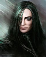 Hela by Darkellaine