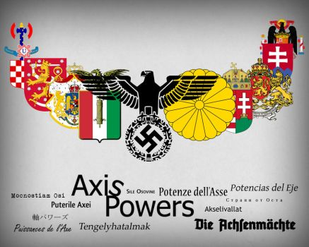 Axis Powers by vortigauntdpr
