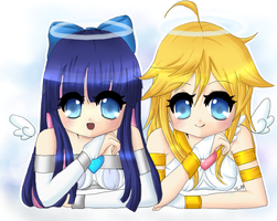 Panty and Stocking by Turkey-Wang