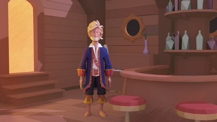 Guybrush Threepwood by vandam1989