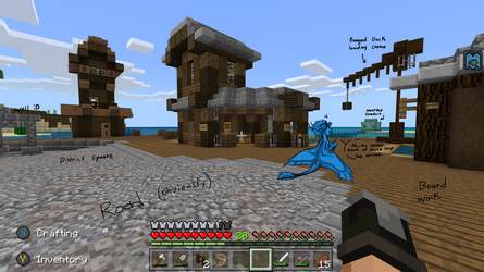 MINECRAFT. My Kelp! by CoffeeAddictedDragon