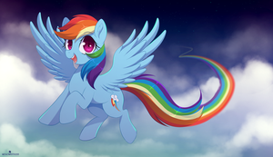 Rainbow Dash by VeraWitch