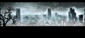 Nuclear winter. Apocalypse by ElenaNaylor
