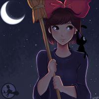 kiki's delivery service by Invader-celes