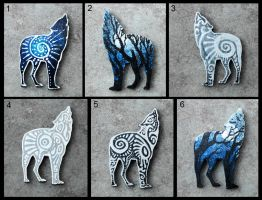 Wolves accessories by hontor