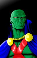 Martian Man-Hunter by Thuddleston