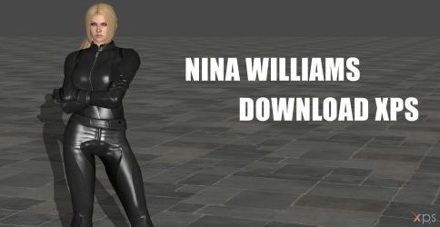 Nina Williams - Black outfit (NEW VERSION) by Changinformatica