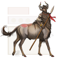 Centaur - Wildebeest [Auction: Closed] by ResidualAdopts