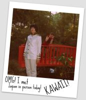 APH- CRAZY TOURIST XDD by Ginger-Hero