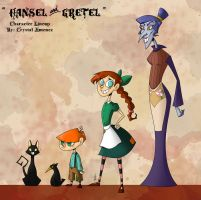 Hansel and Gretel Lineup by Cryej