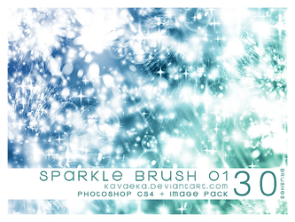 Sparkle Brushes 1 by Kavaeka