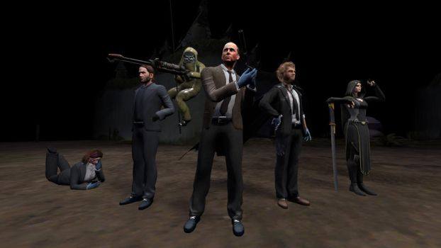 Heisters vs Law forces. by Ezergil