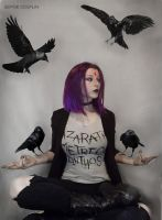 Casual Raven Cosplay by AnneTSeptik