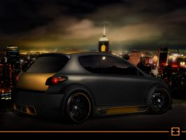 Peugeot 206 Black Edition by Emunem