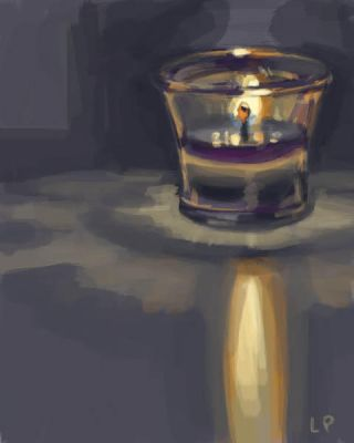 Candle by blindedangel