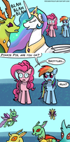 Pinkie Want Skittles by PeichenPhilip