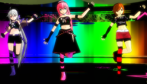 MMD DL NEWCOMERS RAVERS by khftw