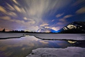 Mt Rundle by JohnQ45