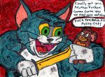 TOM AND JERRY HAVE FUN by DumpsterKid