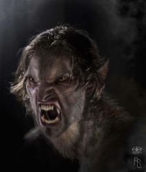 Werewolf 1 by aaronsimscompany