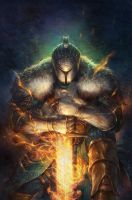 Dark Souls Issue 2 Cover by quahkm