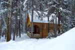 Snowy house by Lubov2001