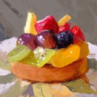 Fruit Tart by GabrielleBrickey