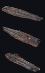 Missile cruiser by PowerPointRanger