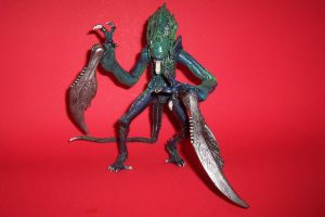 7-Inch Scale Xenomorph Ravager Custom ActionFigure by Drakhand006