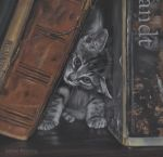 In-between books right now - PASTEL PAINTING by AstridBruning