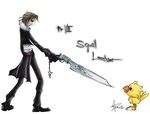 Squall Leonhart by Ludichrist